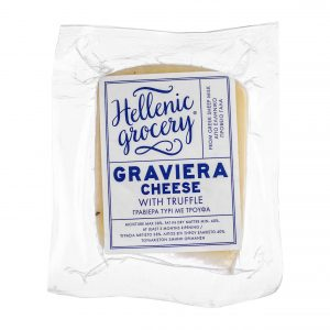 graviera gruyere cheese with truffle