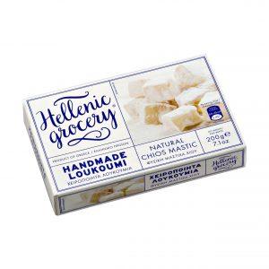 loukoumi Chios mastiha flavor