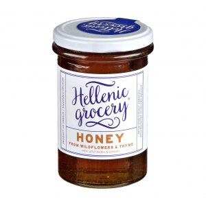 honey from wildflowers and thyme