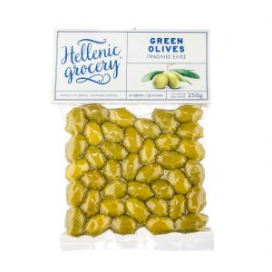 green olives in Vaccum