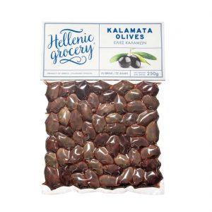 Kalamata olives in Vaccum