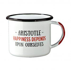 enamel mug Aristotle Spitiko