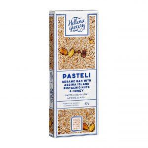 pasteli pistachio honey