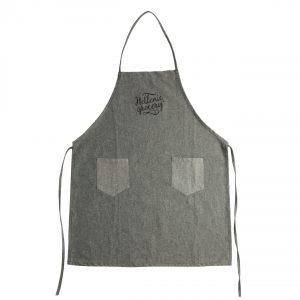 apron grey jean Spitiko