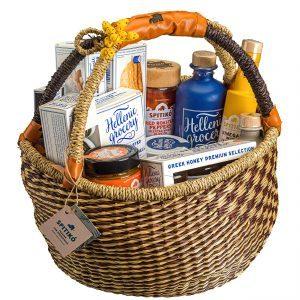 Dionysos seagrass basket gift box