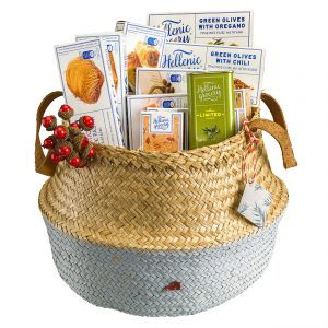 Aeolus basket seagrass gift box