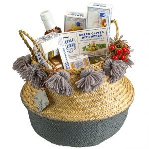 Calypso seagrass basket gift box