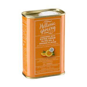 Condiment with Extra Virgin Olive Oil & Orange Flavor